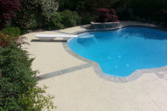 pool deck custom scoreline  indianapolis