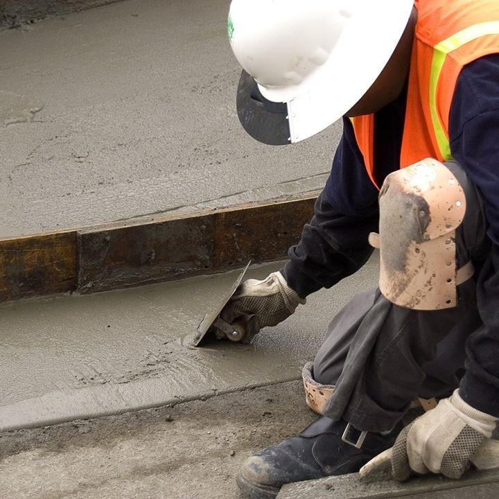 decorative concrete project