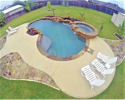 concrete pool deck indianapolis