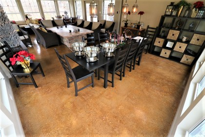 stained concrete floor indianapolis