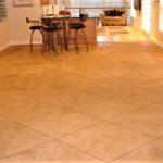 interior stamped concrete floor