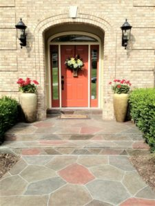 stamped concrete front entry indianapolis